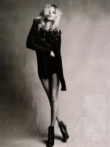 Kate Moss: The Moss Factor - Vogue UK by Patrick Demarchelier, September 2010