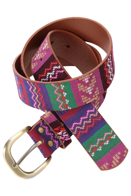 BELT AZTEC PURPLE 7.95EUR