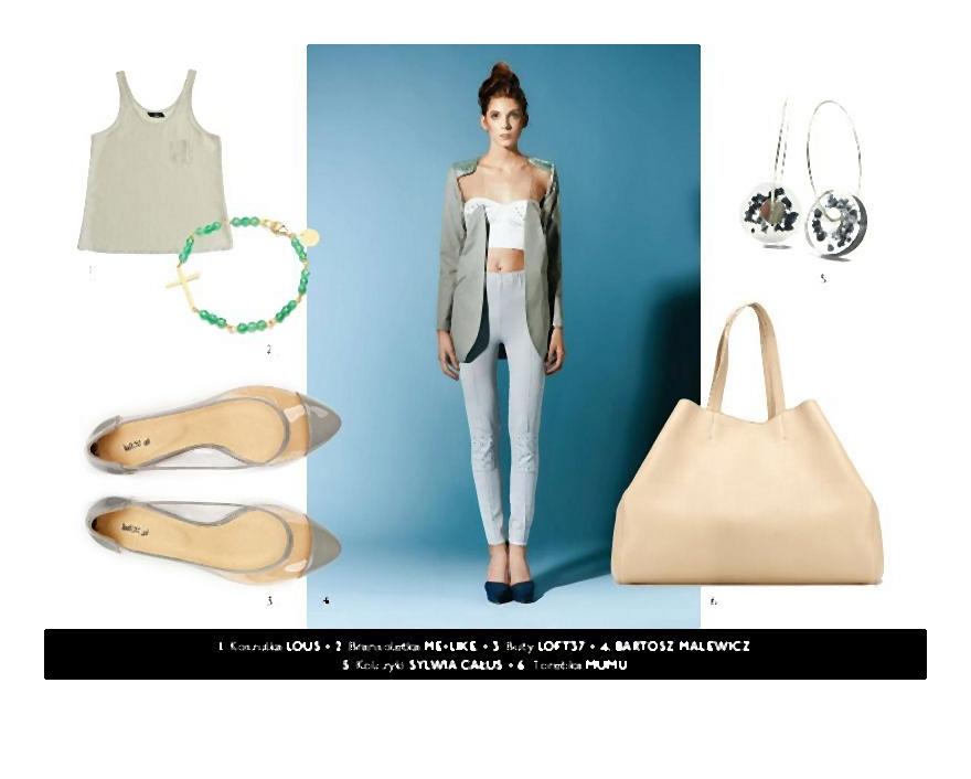 ➀ ➁ ➂ Tworzywo sztuczne w modzie! Plastik jest nie tylko modny, lekki, ale również niedrogi.